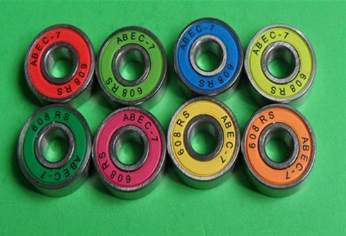 color skateboard bearings